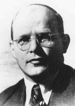 Dietrich Bonhoeffer, German Protestant theologian who was executed in the Flossenbürg concentration camp on April 9, 1945. Germany, date uncertain.