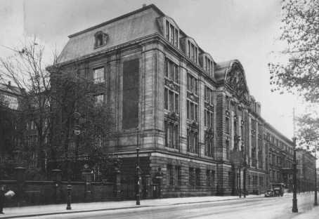Headquarters of the Nazi Gestapo (secret state police) and of the Reich Security Main Office (RSHA). Berlin, Germany, date uncertain.