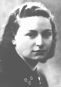 Rita Rosani, a former school teacher who joined the Italian armed resistance immediately upon the German occupation of Italy.  She was killed near Verona on September 17, 1944, when her unit was surrounded. Trieste, Italy, 1940.