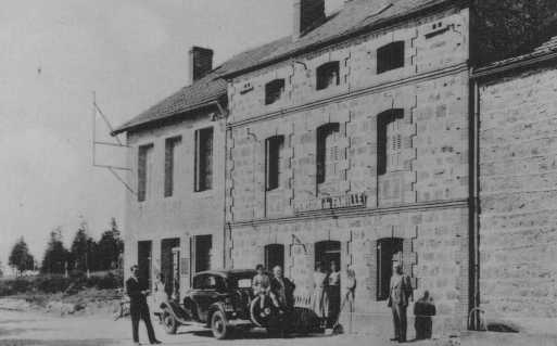 Postcard of a pension in Le Chambon which served as a refugee home for children sheltered from the Nazis. Le Chambon-sur-Lignon, France, date uncertain.