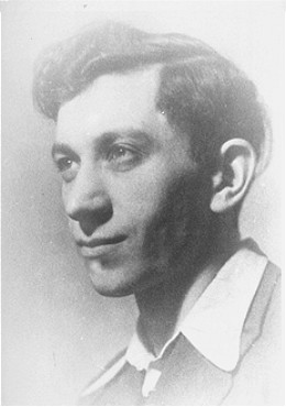 Josef Kaplan, a leader of the Warsaw ghetto underground and Jewish Fighting Organization (ZOB). He was caught preparing forged documents and was killed. Poland, before September 1942.