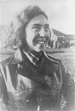 Portrait of Tosia Altman (1918-1943), member of the Jewish underground in the Warsaw ghetto.