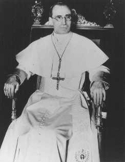 Pius XII, pope from 1939 to 1958. Vatican City, 1939.