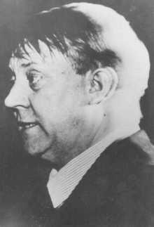 Vidkun Quisling, líder fascista noruego a favor de los alemanes. Oslo, Noruega, 21 de agosto de 1941.