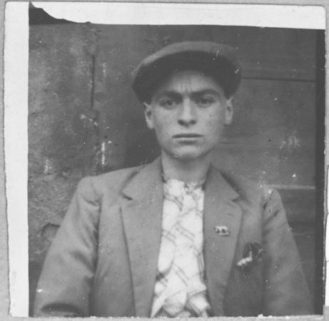 Portrait of Solomon Kalderon, son of Bohor Kalderon. He was a tailor and lived at Karagoryeva 67 in Bitola.