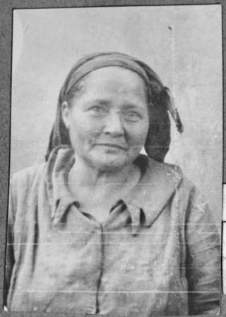 Portrait of Estreya Kolonomos, wife of Isak Kolonomos. She lived at Novatska 23 in Bitola.