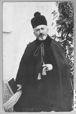 Portrait of Rabbi S. Djain. Bitola.