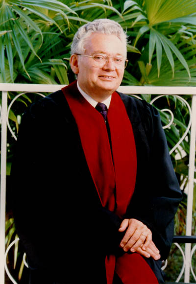Judge Thomas Buergenthal, member of the Inter-American Court of Human Rights, San Jose, Costa Rica, 1980.