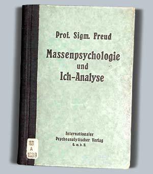 Sigmund Freud: Massenpsychologie und Ich-Analyse, cover
