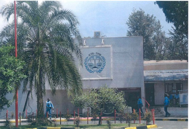 Offices of the International Criminal Tribunal for Rwanda (ICTR) in Arusha, Tanzania.