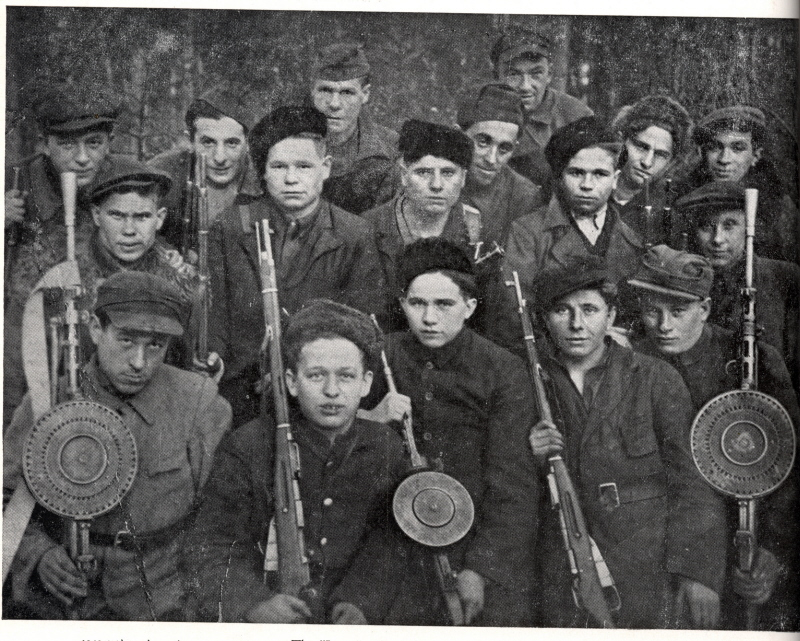 "The ""Lenin"" Partisan Brigade, active in the Zhetel region."