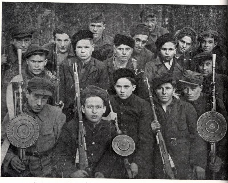 "The ""Lenin"" Partisan Brigade, active in the Zhetel region."
