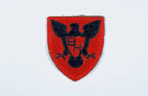 "Insignia of the 86th Infantry Division. The 86th Infantry Division developed the blackhawk as its insignia during World War I, to honor the Native American warrior of that name who fought the US Army in Illinois and Wisconsin during the early nineteenth century. The nickname ""The Blackhawks"" or ""Blackhawk"" division is derived from the insignia."