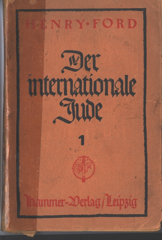By 1922, The International Jew was already in its 21st printing in Germany. Published in Leipzig, 1922.