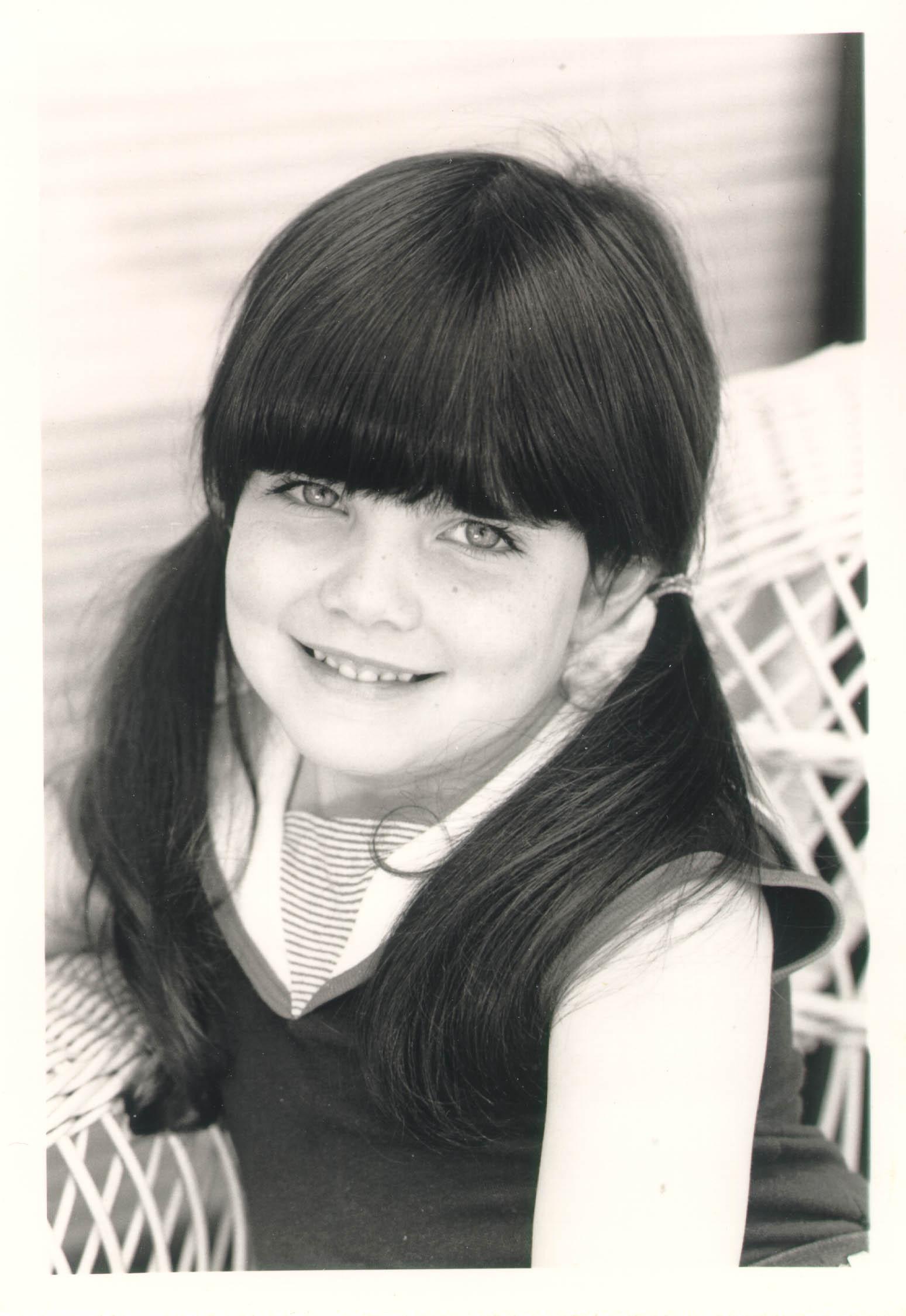 Blanka's granddaughter, Alexis Danielle.