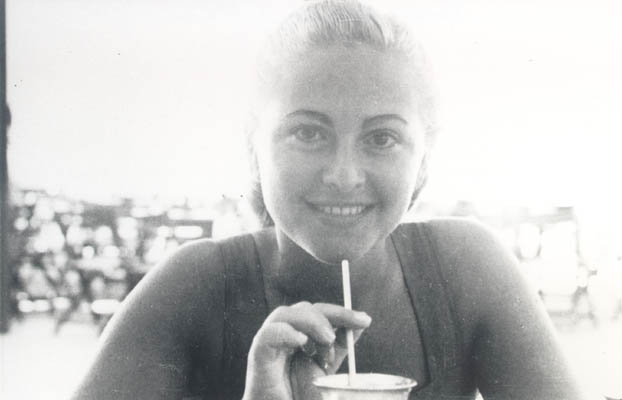Amalie in the United States in 1952.
