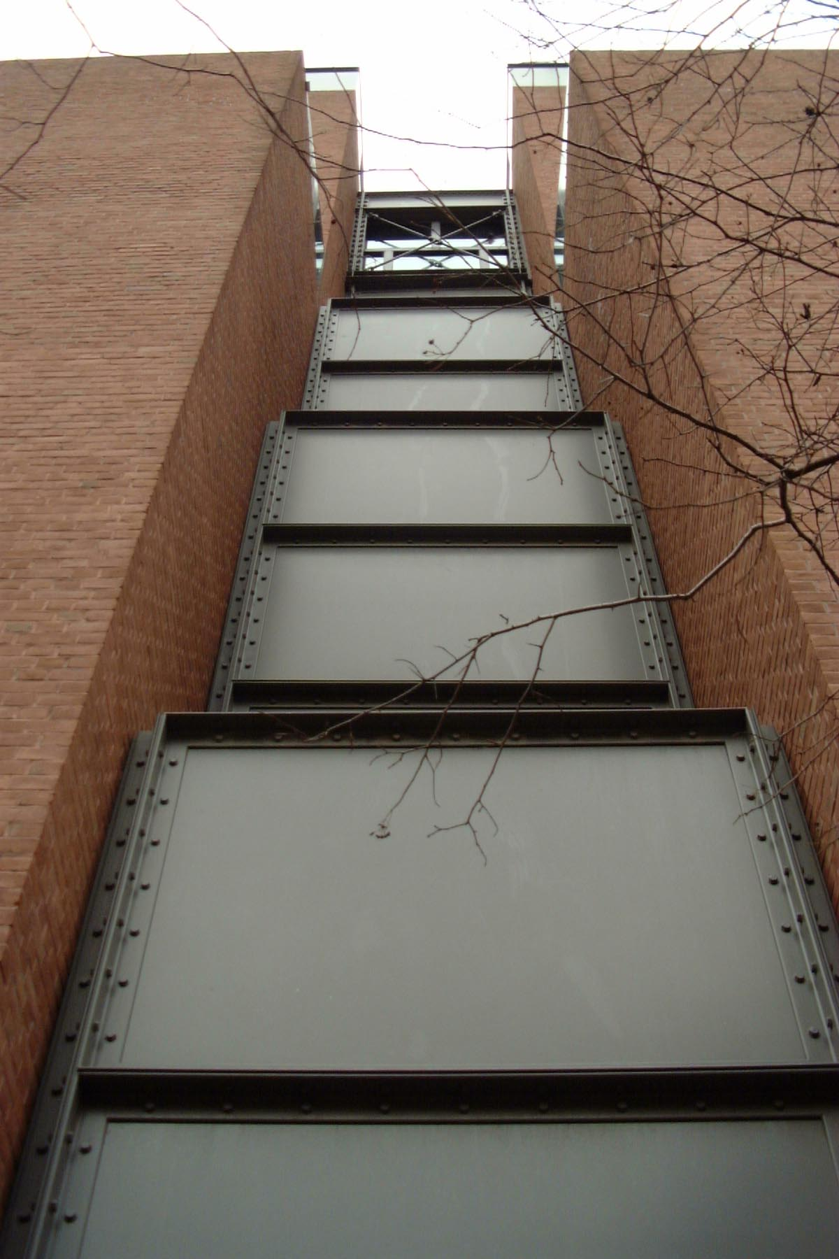 Photograph of exterior wall of the United States Holocaust Memorial Museum.
