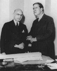Le dirigeant sioniste américain et rabbin Stephen S...