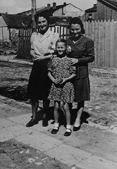 Laura Schwarzwald, her daughter Selma, and Laura's...