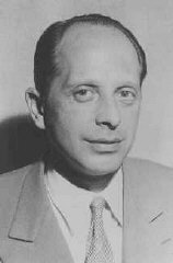 Dr. Gerhart Riegner, World Jewish Congress representative...