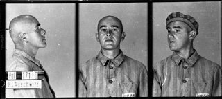 Identification pictures of a prisoner, accused of homosexuality...