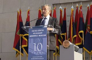 Elie Wiesel became Founding Chairman of the United...