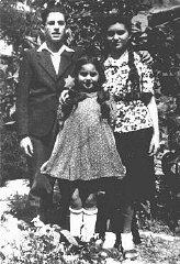A brother and sisters, members of a Jewish family;...