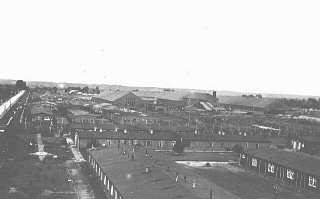 View of the Neuengamme concentration camp.