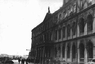 Les forces allemandes occupèrent Riga au début de juillet...