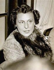 Portrait of Leni Riefenstahl.