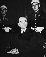 Defendant Albert Speer.