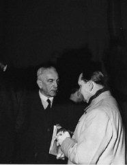 Defendants Konstantin von Neurath and Hermann Goering...