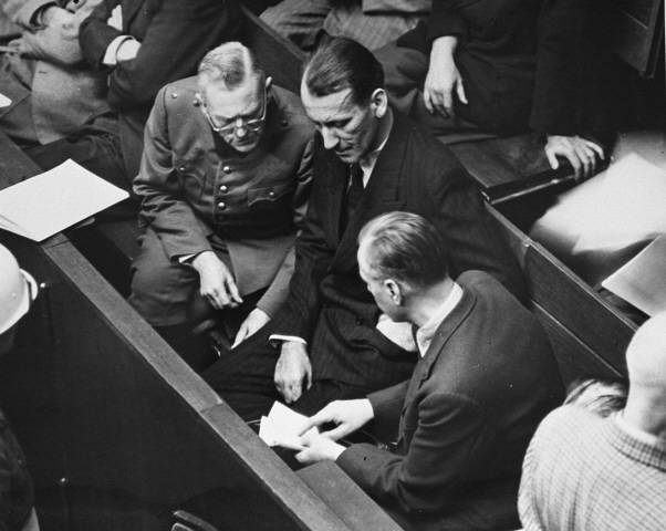rosenberg at the international military tribunal war crimes trial    Rosenberg Trial