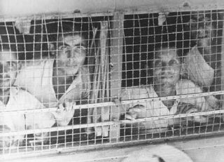 The British arrested the passengers of the Aliyah Bet...
