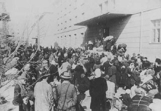 Deportation of Jews. Skopje, Yugoslavia, March 1943...