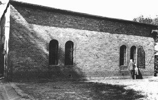 Local onde eram realizadas as execuções na prisão de...