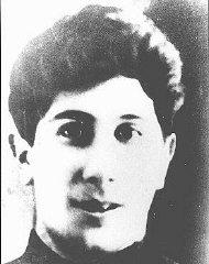 Mikhail Ekeltchik, a member of the Minsk ghetto und...