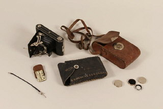 This camera equipment belonged to Walter Hunkler, a...
