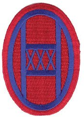 Insignia of the 30th Infantry Division.
