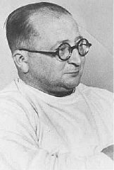 Nazi physician Carl Clauberg,  who performed medical...