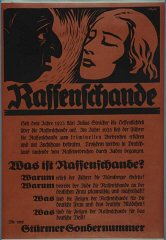 Nazi propaganda poster advertising a special issue...