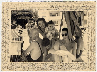 Photograph showing Helene Reik's family members and...