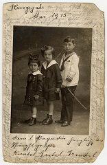 Photograph taken in May 1915 of Helene Reik's child...