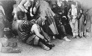 Armenian refugees. Ottoman Empire, 1918-20.
