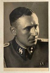Obersturmführer Karl Höcker, June 21, 1944.