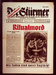 Front page of the most popular issue ever of the Nazi...