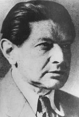 Otto Zucker, member of the Jewish leadership of Czechoslovakia...