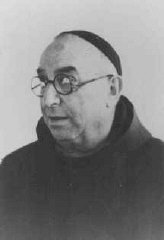 An Italian Jew who survived the war by disguising himself as a priest and living in the Vatican from October 1943 to June 1944.
