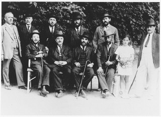 Leaders of the Sighet Jewish community.