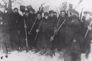 Forced-labor detachment of Jewish prisoners of war from the Polish army.